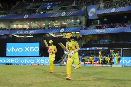 KKR vs CSK Live Score, IPL 2021 Today's Match: Ruturaj Gaikwad Reaches Fifty
