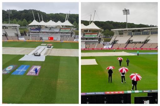 WTC Final, IND VS NZ: बारिश के कारण पहले दिन का खेल रद्द, टॉस तक नहीं हुआ जिसका डर था वही हुआ