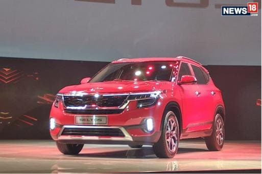 Kia Seltos unveiled in India