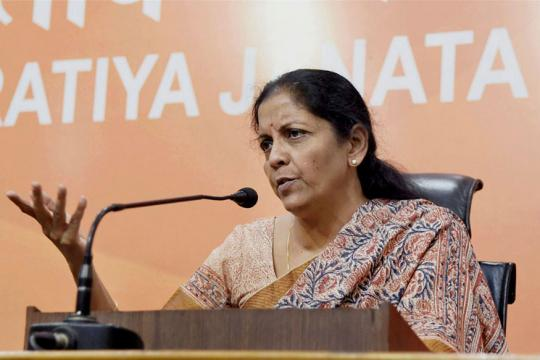 RBI Should Hire Congress for Counting Black Money as They are Familiar With it: Nirmala Sitharaman