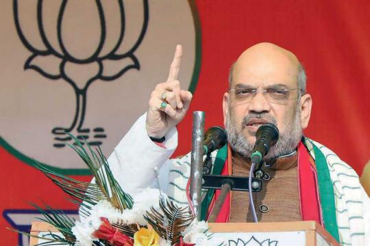 Saving The Constitution or Saving the Dynasty? Amit Shah Takes a Dig at Rahul's Rally in Delhi