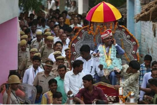 After 6-Month Wait, Dalit Man Takes Out 'Baraat' Through Thakur-Dominated Village in UP