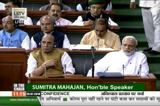 No-Confidence Motion LIVE: Narendra Modi Deceived Us Over Special Package, TDP Targets PM