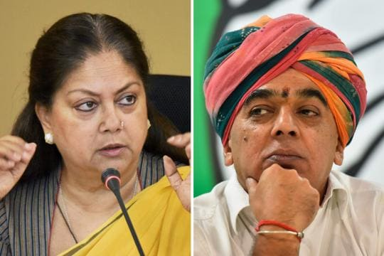 It's Manvendra vs Raje as Congress Fields ex-BJP Leader Jaswant Singh's Son from Jhalrapatan Seat