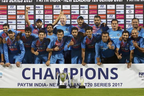 India vs New Zealand 3rd T20I in Thiruvananthapuram: Team India Report Card