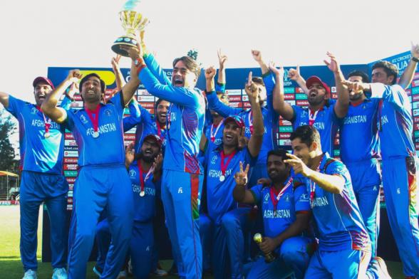 Shahzad Stars As Afghanistan Beat West Indies to Win ICC World Cup Qualifiers Final