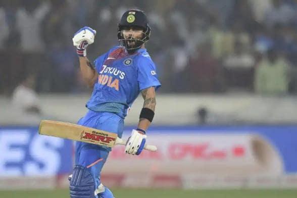 India Skipper Virat Kohli Brings up Another Ton, This Time on Social Media