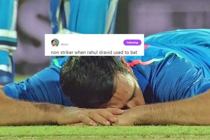 Dhoni Took A Power Nap After Sri Lankan Crowd Hurled Bottles And