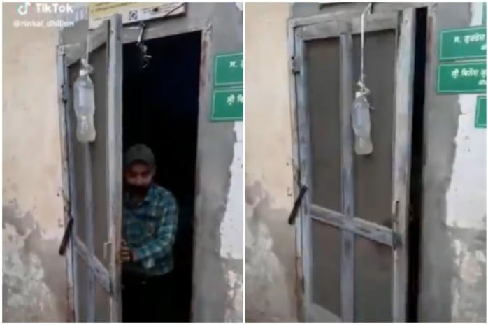 Anand Mahindra Tweets Video of Bottle-Turned Desi Door Stopper