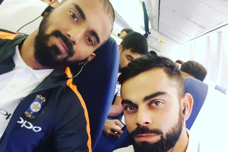 Kohli Kl Rahul Find The Perfect Way To Counter Flight Delays