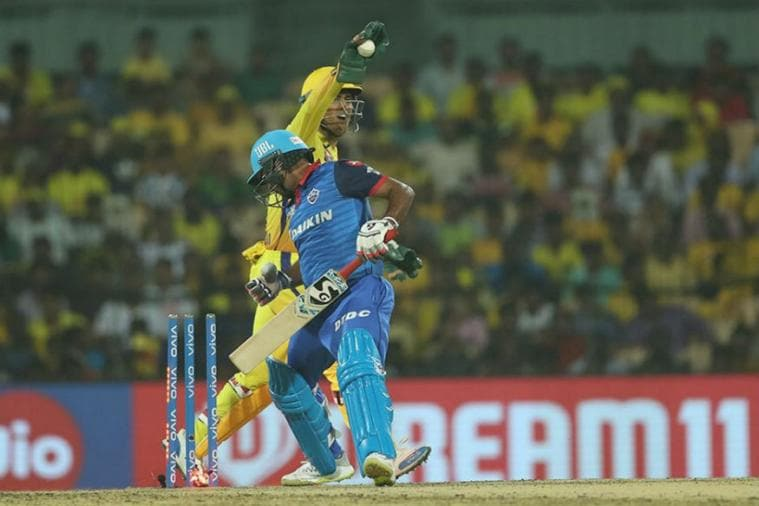 IPL 2019 | Delhi on Receiving End of Dhoni's Keeping Brilliance