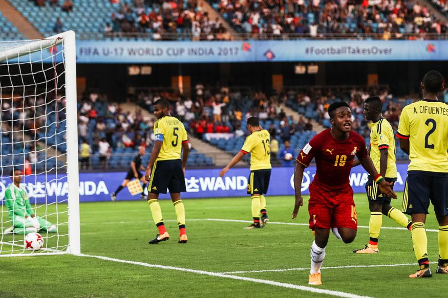 FIFA U-17 World Cup Highlights: Ghana vs Colombia - As It Happened