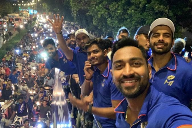 IPL 2019 | Mumbai Celebrate Record Fourth Title With Open Bus Parade