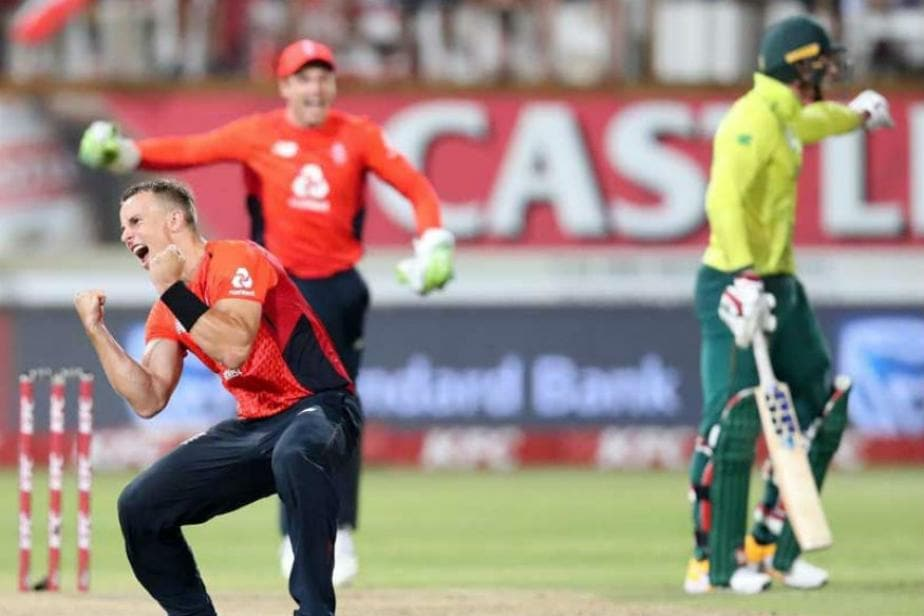 Tom Curran's Final Over Comeback Leads England to Thrilling Win in Second T20I