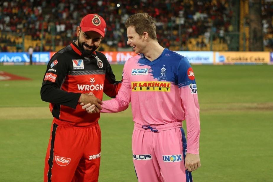 IPL 2020: Rajasthan Royals troll Royal Challengers Bengaluru for using their old logo