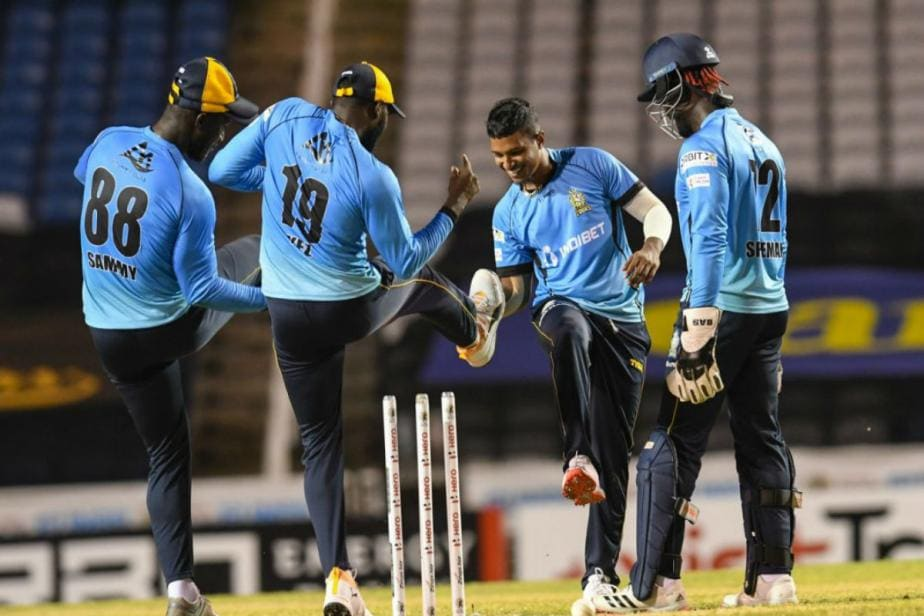 CPL 2020: St Lucia Zouks Storm Into Summit Clash After Dismissing Guyana Amazon Warriors for 55