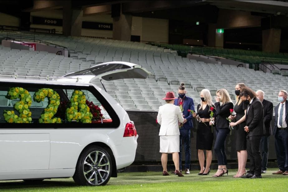 Dean Jones' Journey Comes to an End at Iconic MCG, Close Relatives Attend Funeral