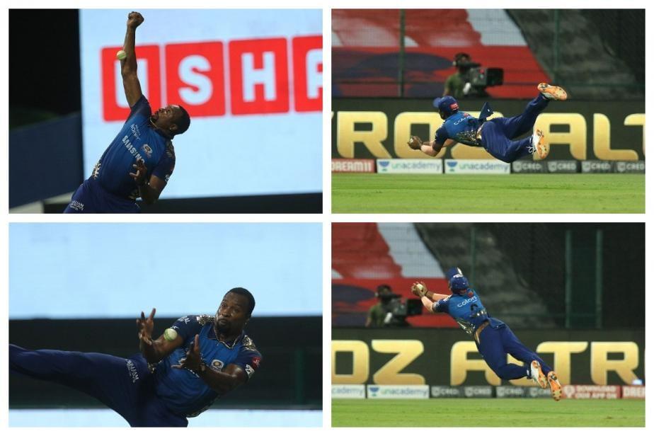 WATCH: Ankul Roy and Kieron Pollard's Stunning Catches vs Rajasthan Royals