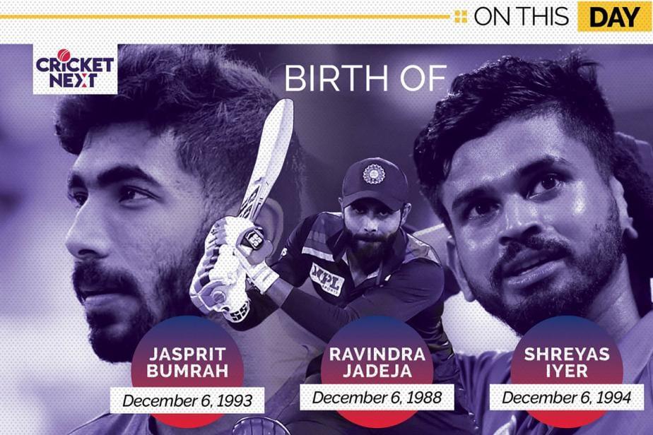 On This Day: Birth of Three Indian Stars - Ravindra Jadeja, Jasprit Bumrah and Shreyas Iyer