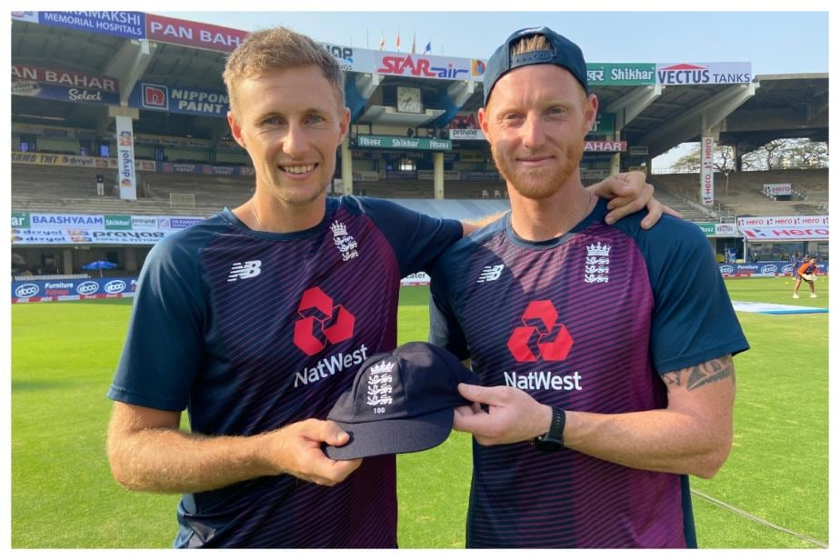 Chennai Test: Joe Root Receives Special Cap for his 100th Test From Ben Stokes