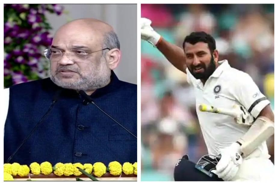 India vs England:  I Wish Cheteshwar Pujara Scores Double Century Here, Says Home Minister Amit Shah