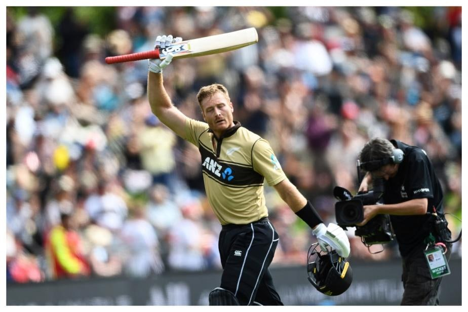 NZ vs AUS, 2nd T20I: With a Whirlwind 50-ball 97, Martin Guptill Goes Past Rohit Sharma's Record of Most Sixes in T20Is
