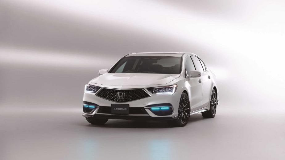 In Pics: World's 1st Level 3 Autonomous Vehicle Honda Legend Launched - Detailed Image Gallery