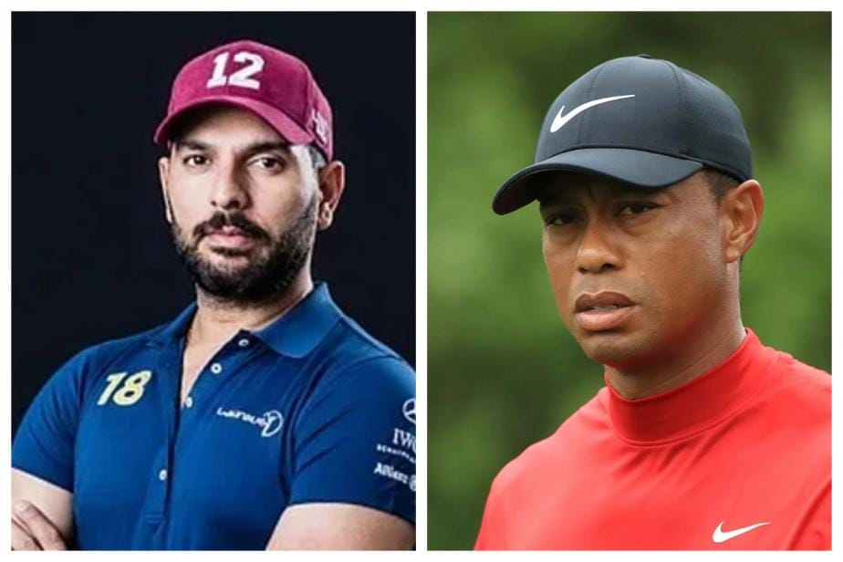 Yuvraj Singh Wishes Tiger Woods a Speedy Recovery With a Round of Golf