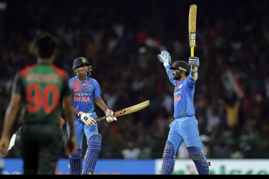 On This Day: Dinesh Karthik's Last Ball Six Downs Bangladesh, Helps India Clinch the Nidahas Trophy