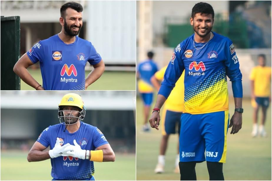 IPL 2021: CSK's Cheteshwar Pujara, Robin Uthappa and K Gowtham Share First Experience After Training