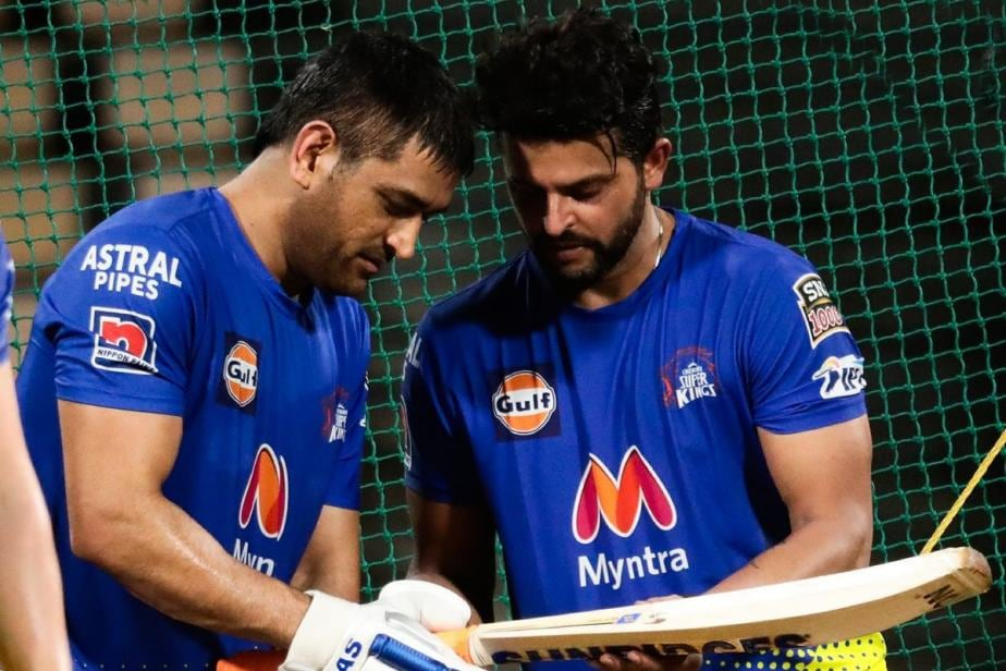 IPL 2021: MS Dhoni, Suresh Raina Return to CSK Nets Ahead of New Season