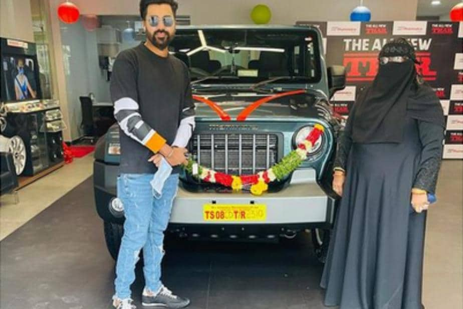 India Pacer Mohammed Siraj Thanks Anand Mahindra For SUV