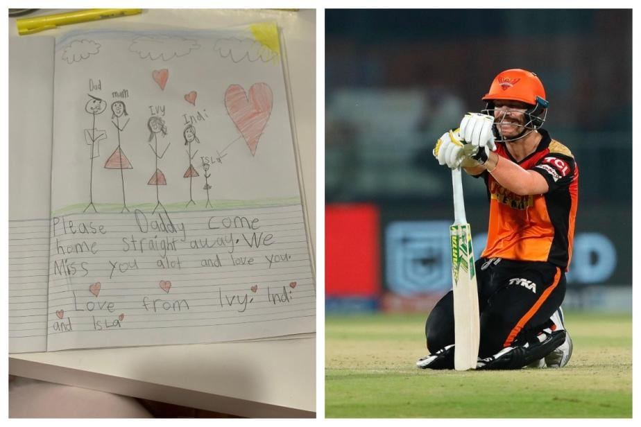 IPL 2021 Suspended: Stranded David Warner Gets Heartbreaking Message from His Daughters