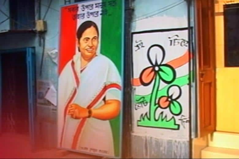 Party Slogans, Colourful Flags Adorn West Bengal