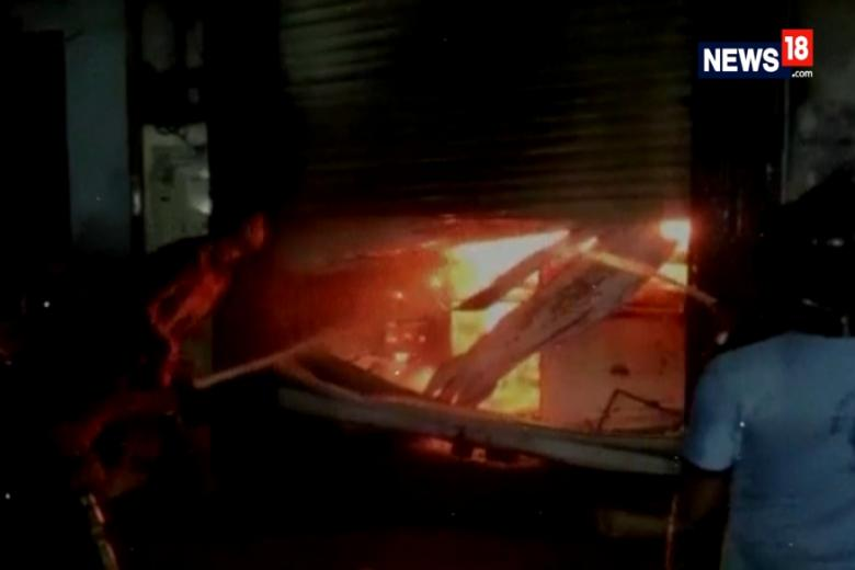Fire Breaks Out in Photo Studio in Maharashtra's Nala Sopara