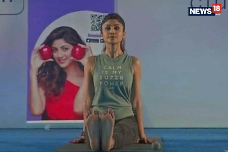 Shilpa Shetty Makes Yoga The Fitness Mantra For Fans