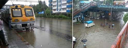 अखेर २४ तासांनंतर मुंबईची वाहतूक हळूहळू पुर्वपदावर