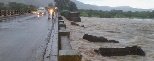#महाडदुर्घटनाः सावित्री नदीत दोन मृतदेह सापडले