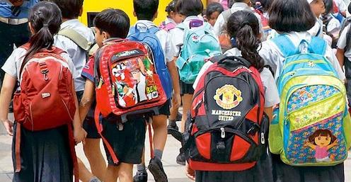 विद्यार्थ्यांच्या दप्तराचे ओझे होणार कमी, शिक्षण विभागाचा नवा प्रयोग