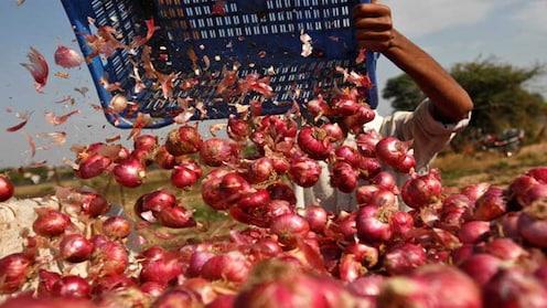 कांद्यानं आणलं शेतकऱ्यांच्या डोळ्यात पाणी, कांद्याला सव्वा रुपया भाव !