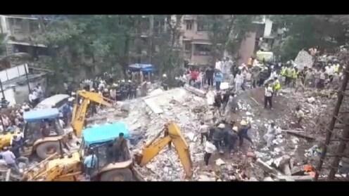 घाटकोपर दुर्घटना; ढिगाऱ्याखालून मुलाला फोन केल्यामुळे वाचले राजेश दोशींचे प्राण