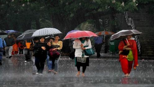 सोमवारी मुंबईत गेल्या तीन वर्षांमधला सर्वात जास्त पाऊस