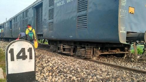 रेल्वे अपघातांचे सत्र सुरूच; शक्तीपुंज एक्स्प्रेस रूळांवरून घसरली