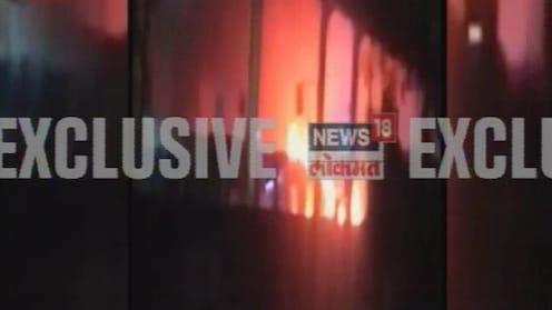 मुंबईत मैसूर कॉलनी स्टेशनवर मोनोरेलला आग, जीवितहानी नाही