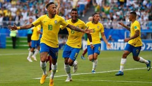 ने'मार' खेळीने ब्राझिलची क्वार्टर फायनलमध्ये धडक, मेक्सिको बाहेर