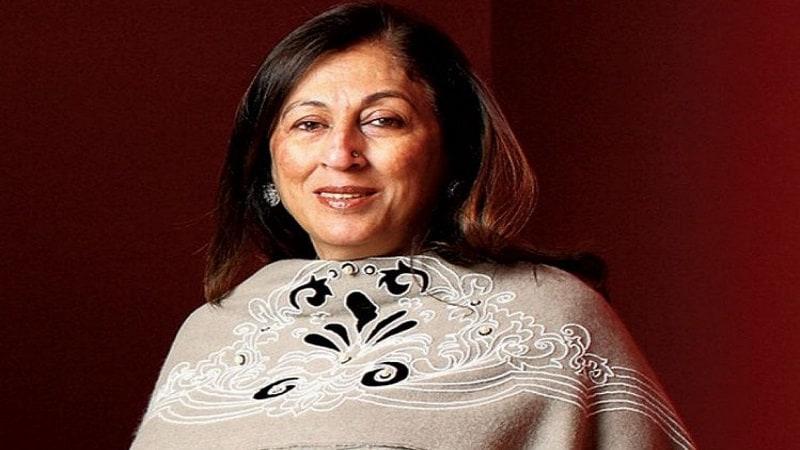 भारतातील पाचव्या क्रमांकाची श्रीमंत स्त्री म्हणून एचसीएलच्या किरण नादर यांचे नाव आहे. त्यांच्या एकूण संपत्तीच्या बाबतीत 20,120 कोटींचा अंदाज लावला गेला आहे. या यादीत केवळ 8000 कोटी रुपयांपेक्षा जास्त संपत्ती असलेल्या या महिलांचा समावेश आहे.