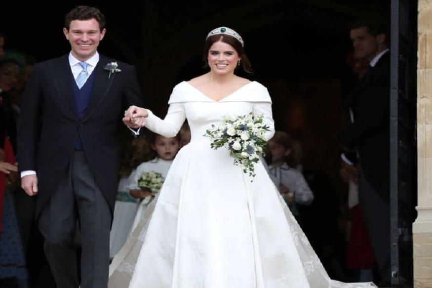 ब्रिटनची राजकुमारी यूजिनीने तकीला एक्जीक्यूटिव जॅक ब्रूक्सबँकसोबत शुक्रवारी भव्य अशा विंडसर कॅसलमध्ये विवाह केला. या लग्नासाठी अनेक महत्त्वाच्या हस्ती उपस्थित होत्या. यूजिनी क्वीन एलिझाबेथ द्वितीयची पणती आहे त्याचबरोबर ब्रिटिश सिंहासनाची ती नववी दावेदार आहे.