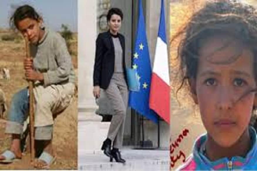 गेले काही दिवस इंटरनेटवर हे फोटो व्हायरल झालेत. एकेकाळी बकऱ्या- मेंढ्या चरायला नेणारी, कट्टर मुस्लीम कुटुंबात जन्माला आलेली ही स्त्री आता फ्रान्सची शिक्षण मंत्री झाली आहे.