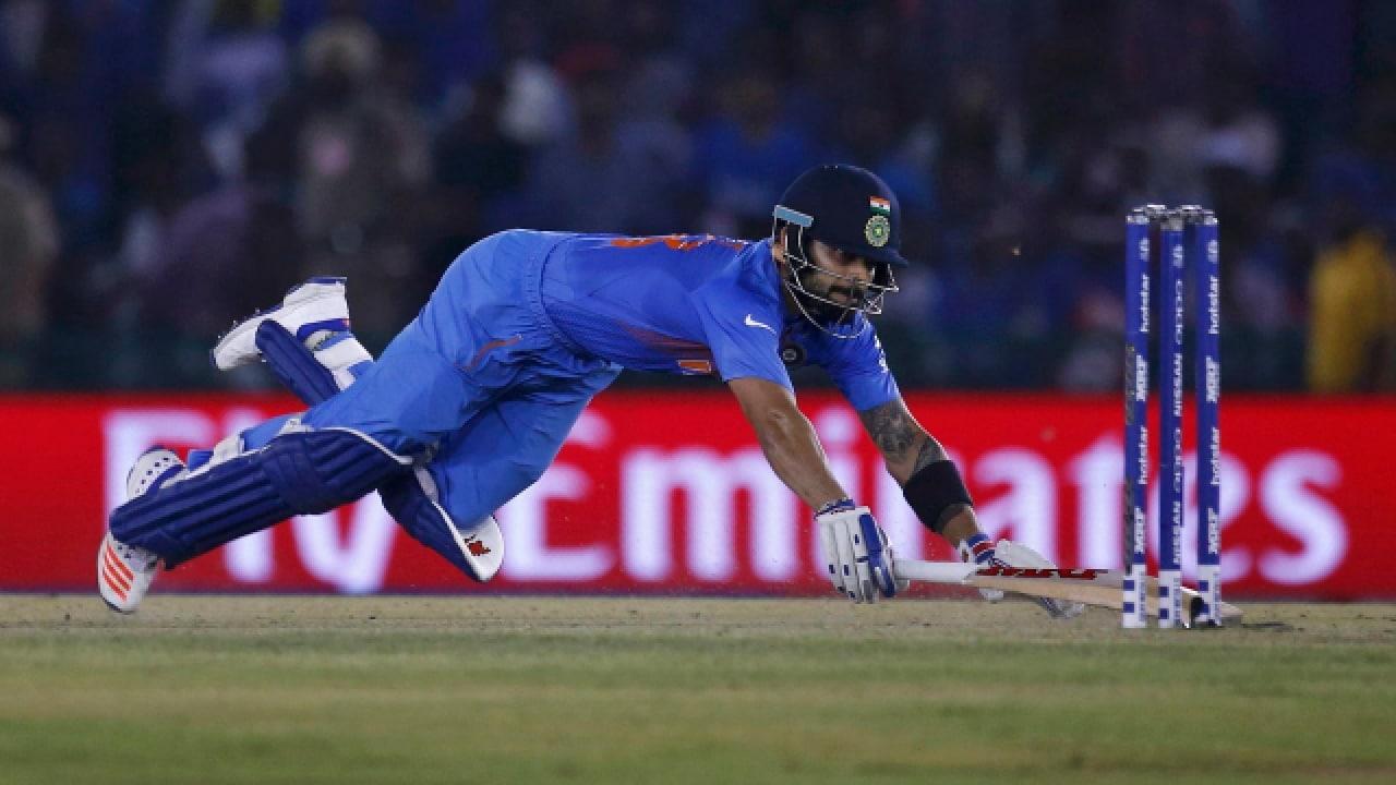 'जर टीम इंडियाला गरज असेल तर धाव घेण्यासाठी मी एका ओव्हरमध्ये सहावेळ डाईव्ह मारायला तयार आहे,' असं विराट कोहलीने म्हटलं आहे.