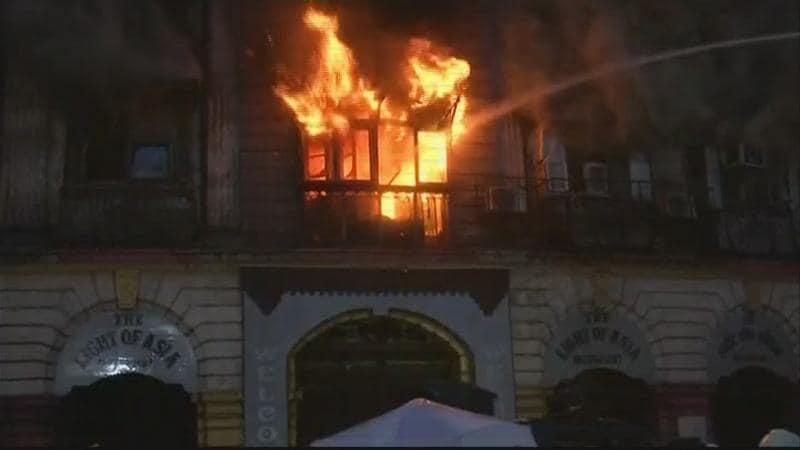 कोठारी मँशन इमारत - मुंबईच्या फोर्ट भागात 9 जून रोजी पहाटे 4 वाजता कोठारी मँशन इमारतीला भीषण आग लागली होती. सीएसटी स्थानकाच्या समोरच कोठारी मँशन नावाची इमारत आहे. आग इतकी भीषण होती की, इमारतीचा काही भाग कोसळला. यात अग्निशमन दलाचे 2 अधिकारी जखमी झाले होते.